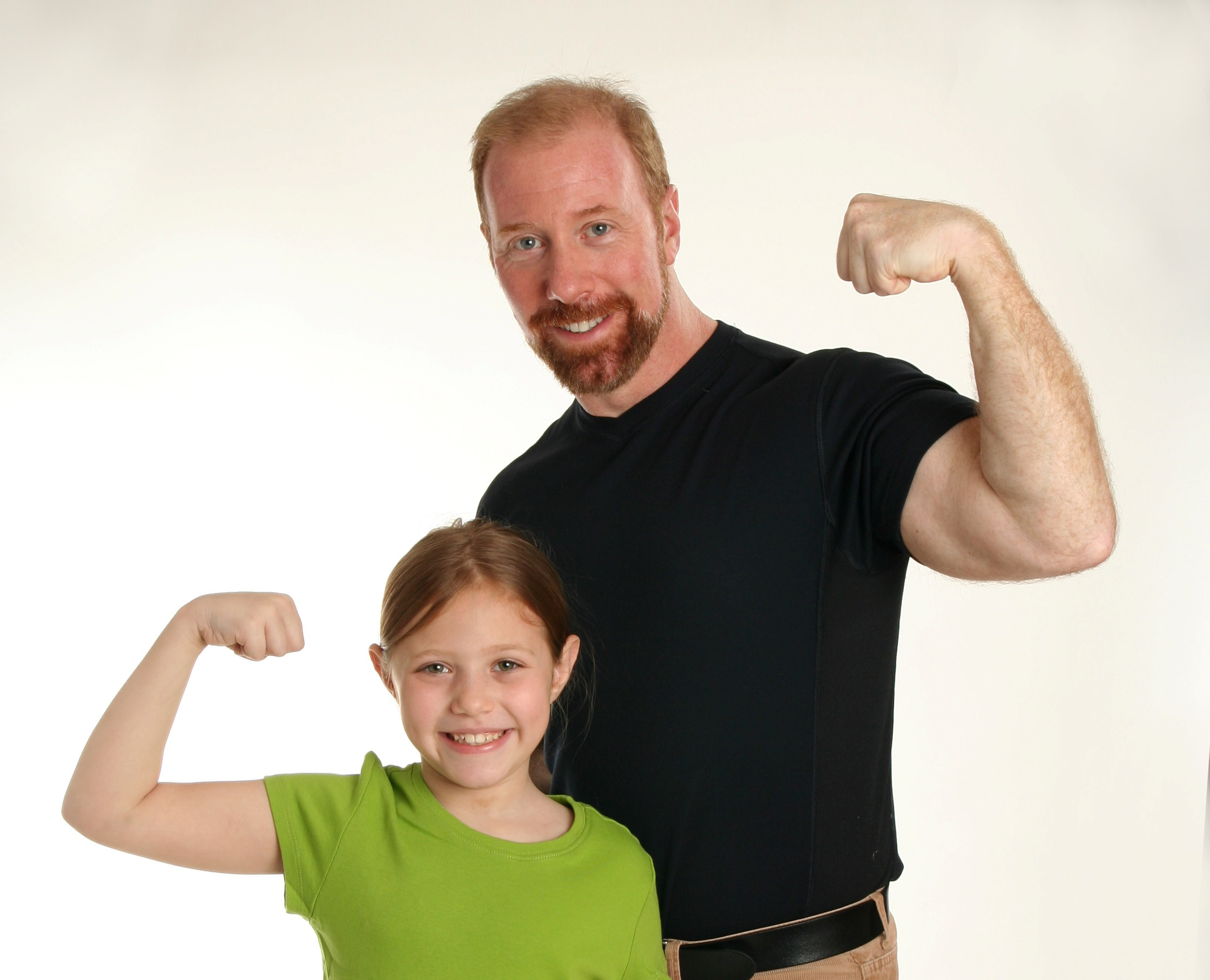 GA and Dad Strong Kids Cover